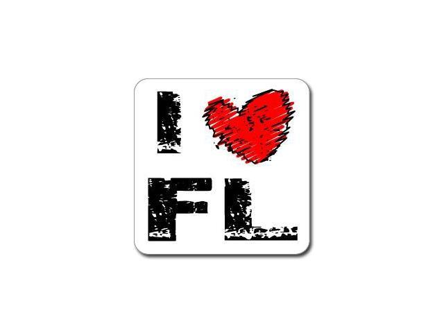I Love Heart FL - FLORIDA Sticker - 5