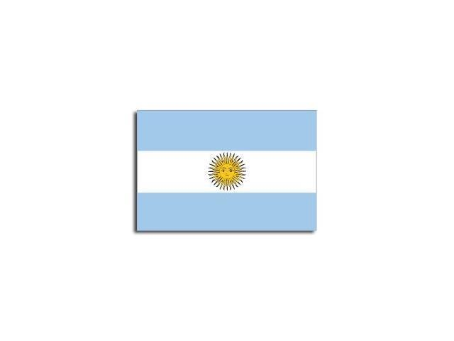 ARGENTINA Flag Sticker - 5