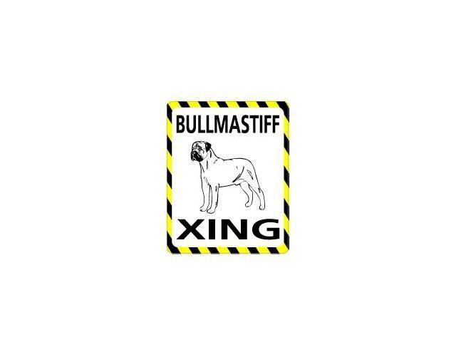 BULLMASTIFF Crossing Sticker - 4