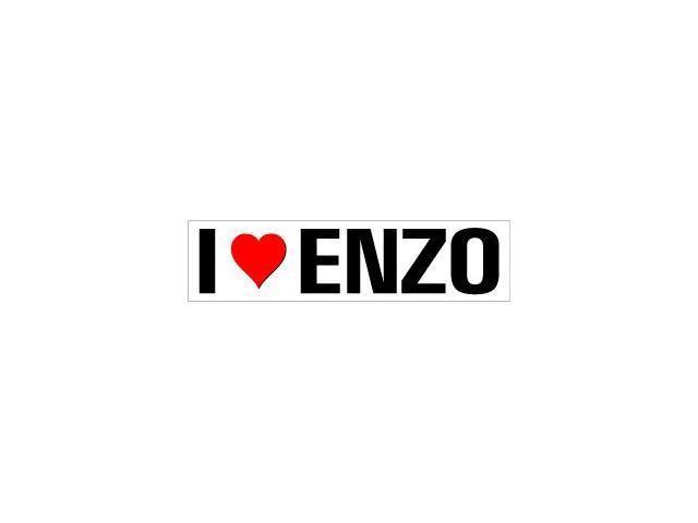 I Love Heart Enzo Sticker - 8