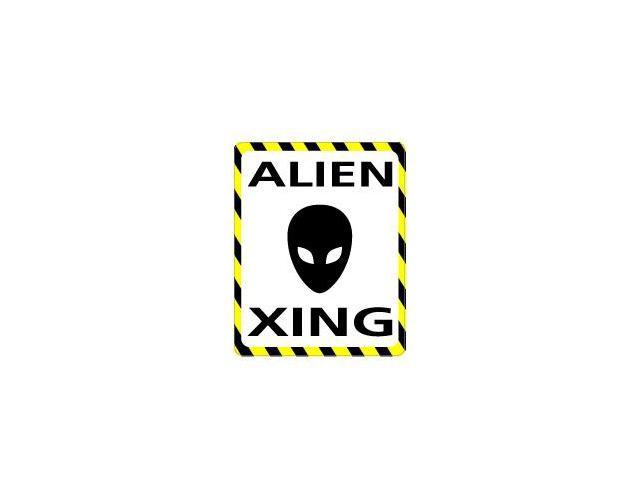 ALIEN Crossing Sticker - 4