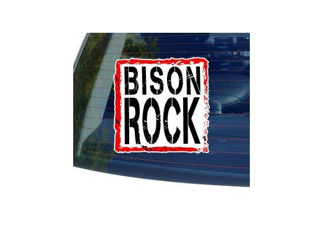 Bison Rock Sticker - 5