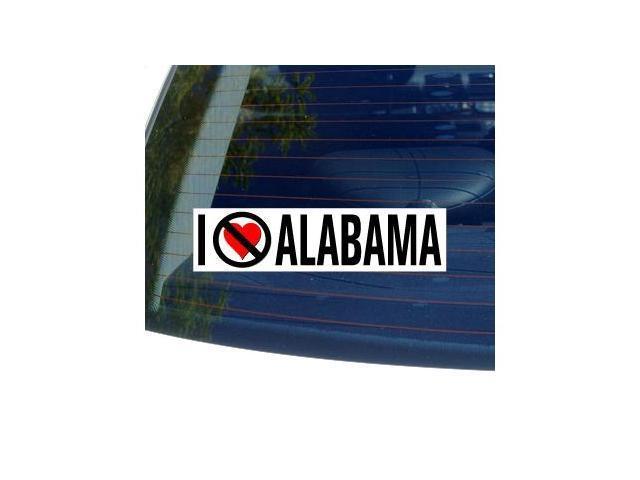 I Hate Anti ALABAMA Sticker - 8