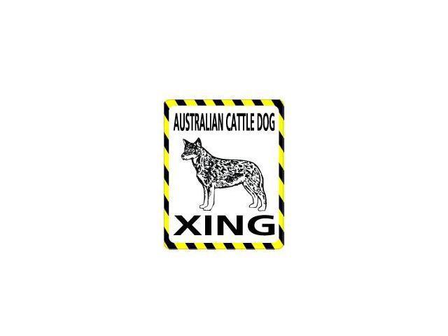 AUSTRALIAN CATTLE DOG Crossing Sticker - 4