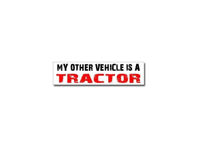 Other Vehicle is Tractor Sticker - 8
