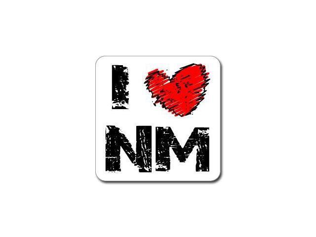I Love Heart NM - NEW MEXICO Sticker - 5