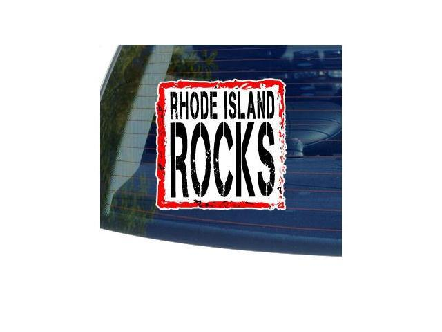 Rhode Island Rocks Sticker - 5
