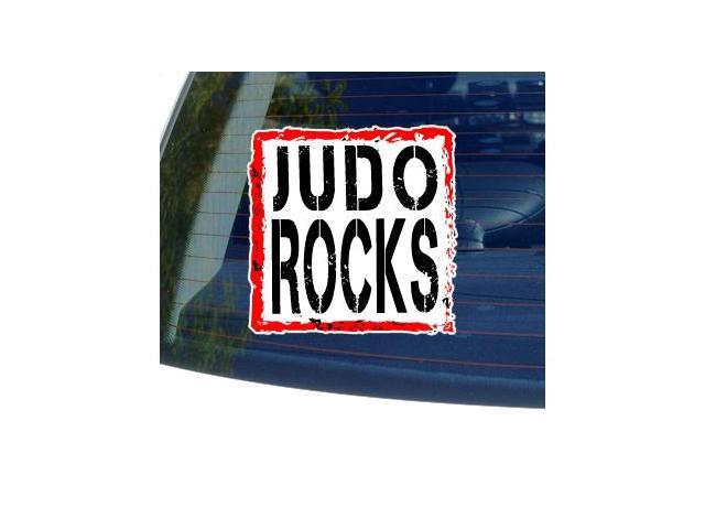 Judo Rocks Sticker - 5