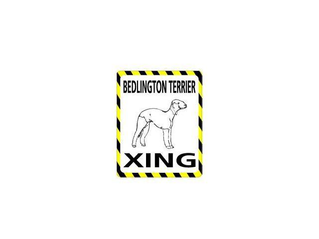 BEDLINGTON TERRIER Crossing Sticker - 4