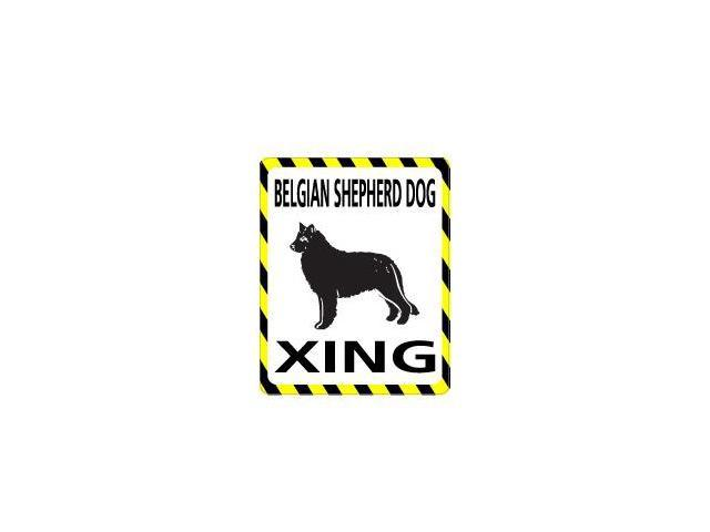 BELGIAN SHEPHERD DOG Crossing Sticker - 4