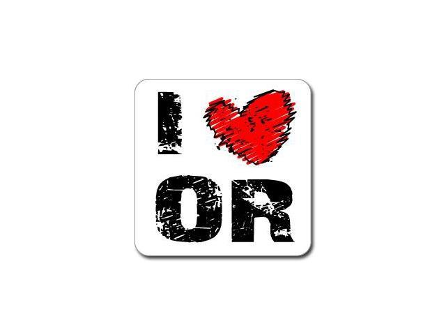 I Love Heart OR- OREGON Sticker - 5