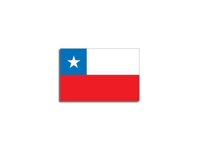 CHILE Flag Sticker - 5