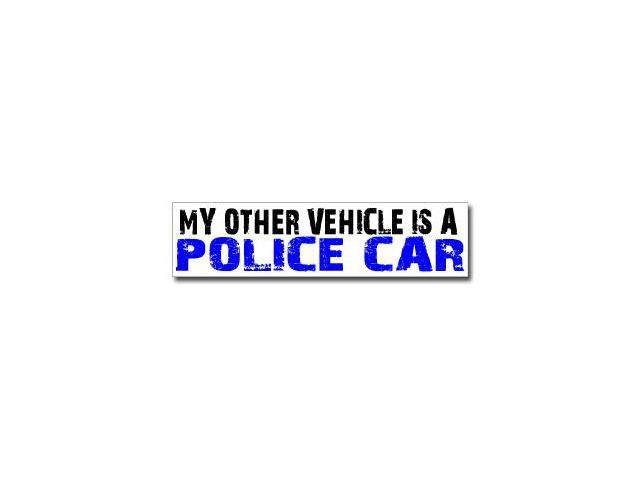 Other Vehicle is Police Car Sticker - 8