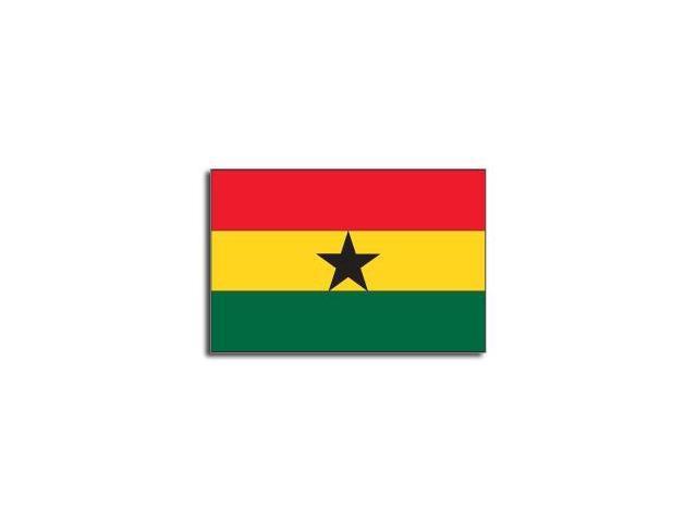 GHANA Flag Sticker - 5