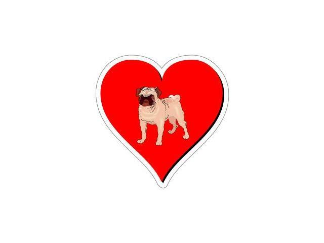 Pug Love Sticker - 4