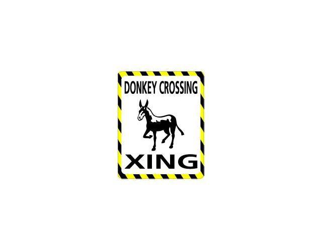 DONKEY Crossing Sticker - 4