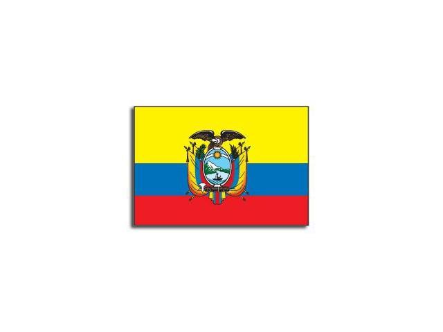 ECUADOR Flag Sticker - 5