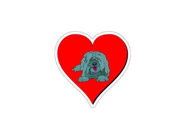Sheepdog Love Sticker - 4