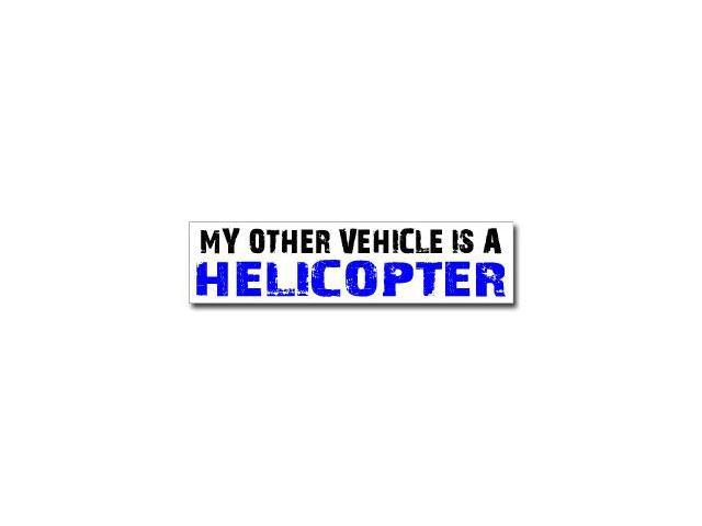 Other Vehicle is Helicopter Sticker - 8