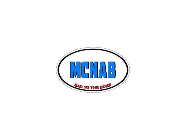 MCNAB Bad to the Bone - Dog Breed Sticker - 5.5