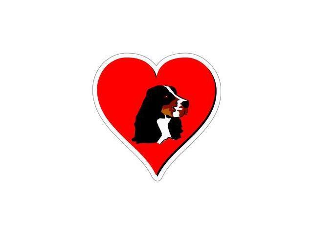 Springer Spaniel Love Sticker - 4