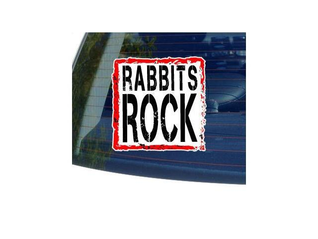 Rabbits Rock Sticker - 5