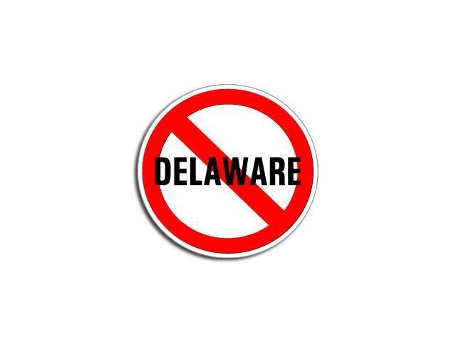 NO Anti DELAWARE Sticker - 5