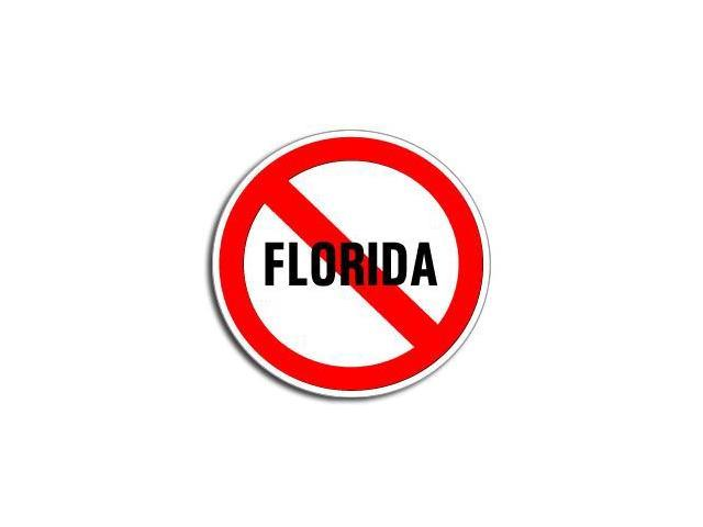 NO Anti FLORIDA Sticker - 5