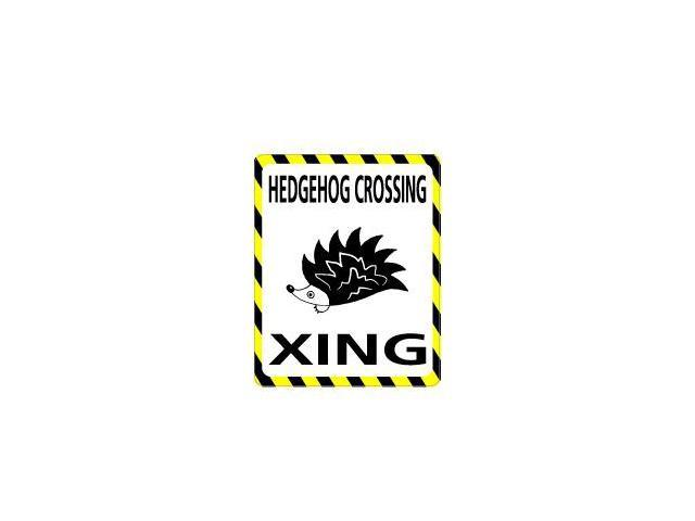 HEDGEHOG Crossing Sticker - 4