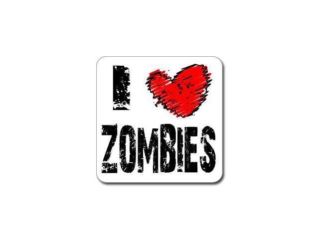 I Love Heart ZOMBIES Sticker - 5