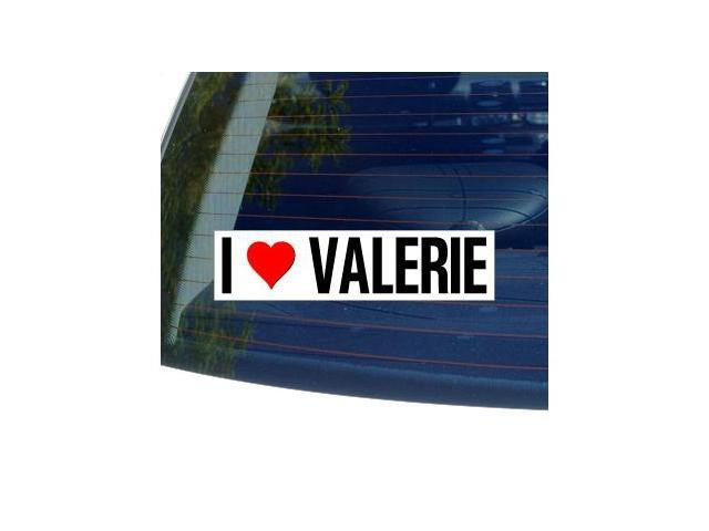 I Love Heart VALERIE Sticker - 8