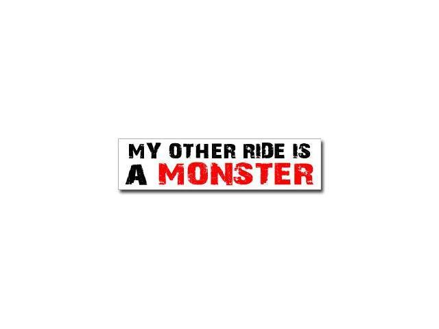 Other Ride is Monster Sticker - 8