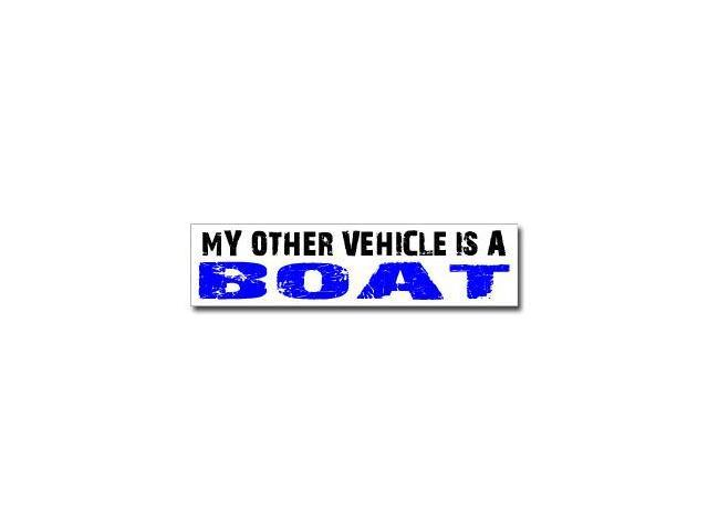 Other Vehicle is Boat Sticker - 8