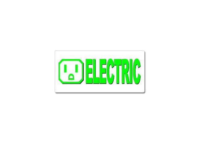 Electric Car Sticker - 7