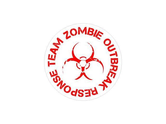 Zombie Outbreak Response Team Sticker - 4