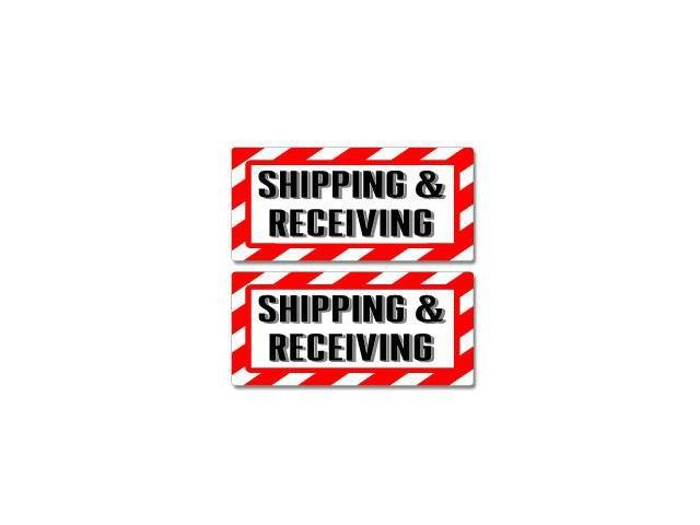 Shipping And Receiving Sign Stickers - 5