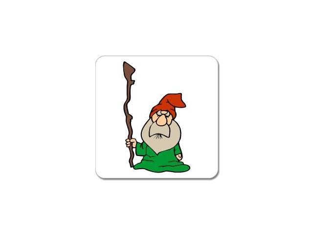 Dwarf Wizard Fantasy Sticker - 5