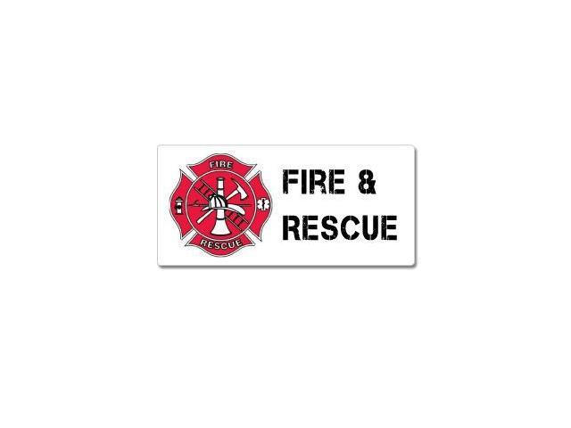 Fire And Rescue - Firemen EMT Sticker - 7