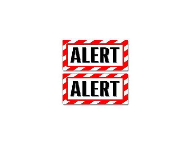 Alert Sign - Warning Stickers - 5