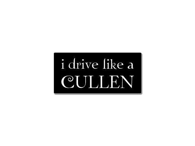 I Drive Like A Cullen - Twilight Sticker - 7