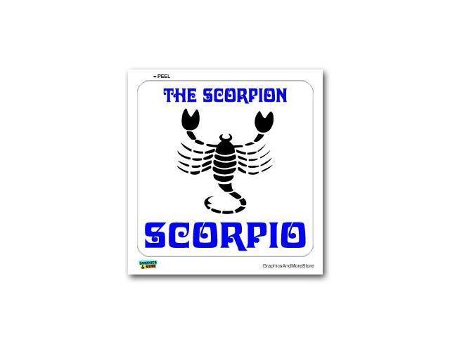 Scorpio The Scorpion Zodiac Horoscope Sign Sticker - 5