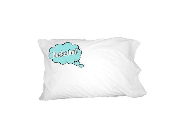 Dreaming of Basketball - Blue Novelty Bedding Pillowcase Pillow Case