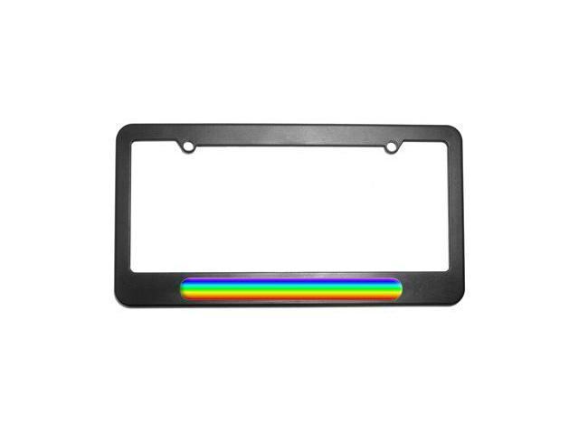 Rainbow - Gay Lesbian License Plate Tag Frame