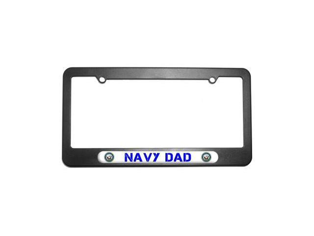 Navy Dad - United States License Plate Tag Frame