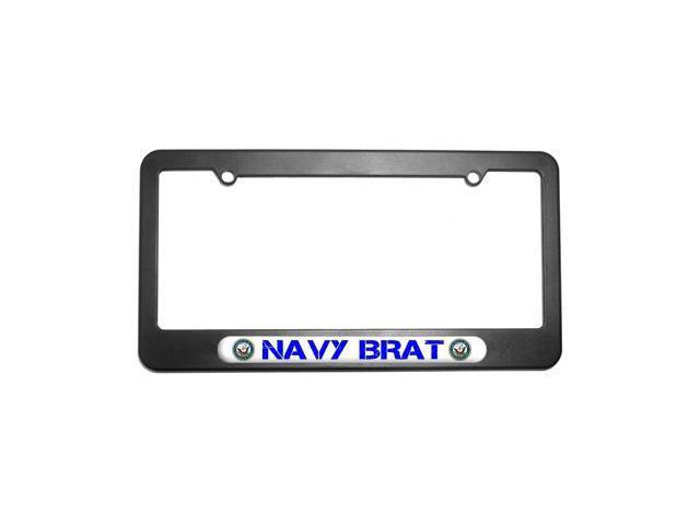 Navy Brat - United States License Plate Tag Frame