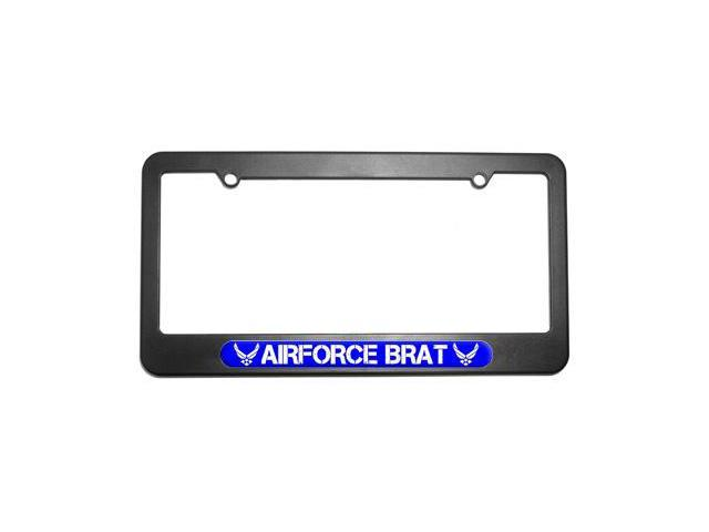 Airforce Brat - United States License Plate Tag Frame