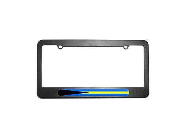 Bahamas Country Flag License Plate Tag Frame
