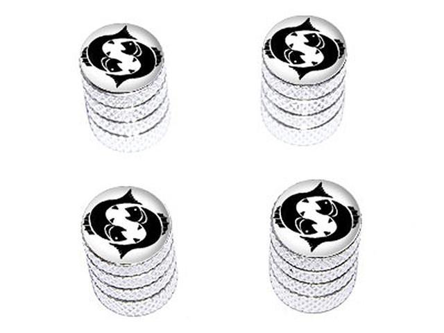 Pisces Zodiac Horoscope - Tire Rim Wheel Valve Stem Caps - Aluminum