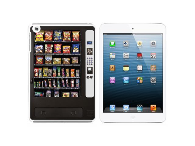 Snack Vending Machine Snap On Hard Protective Case for Apple iPad Mini - White