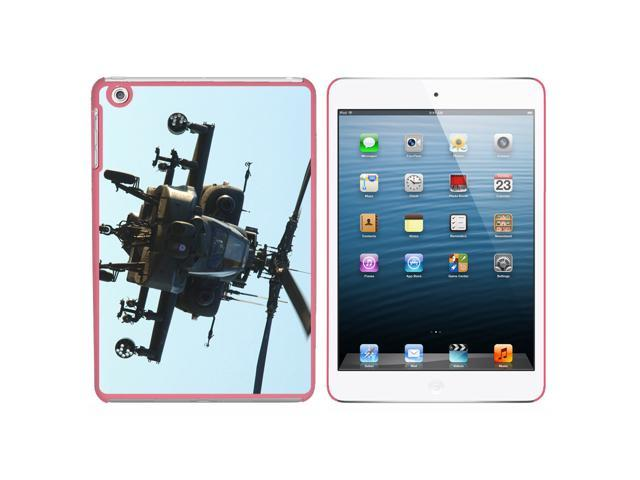 Apache Attack Helicopter Snap On Hard Protective Case for Apple iPad Mini - Pink - OEM